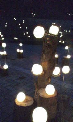 くわどり湯ったり村の灯り。その四。
